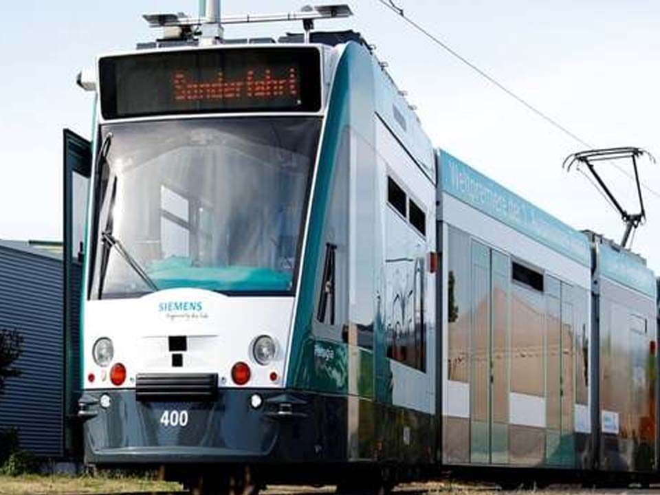 World's First Self-Driving Train